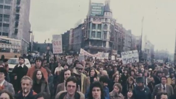 Dublin Protesters Wood Quay