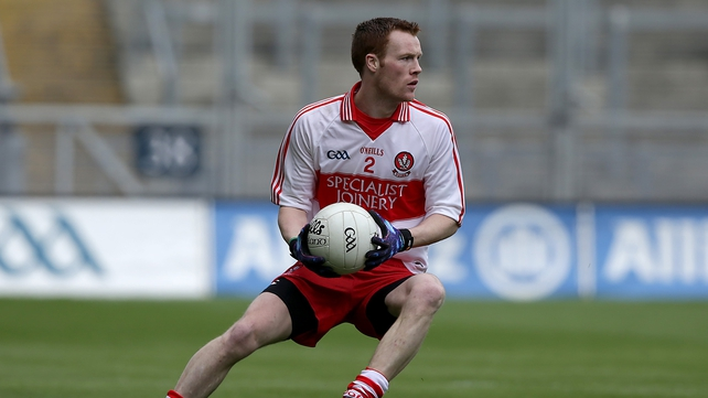 Aidan McAlynn will start for Derry against Dublin