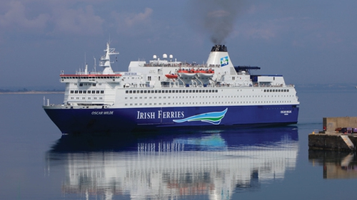 A problem with the ship's radar system forced the cancellation of Tuesday night's crossing (Pic: Irish Ferries)