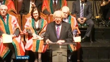 President Higgins awarded the Freedom of Cork City