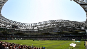 The Aviva Stadium has a capacity of 51,700 and could play host to four games at Euro 2020