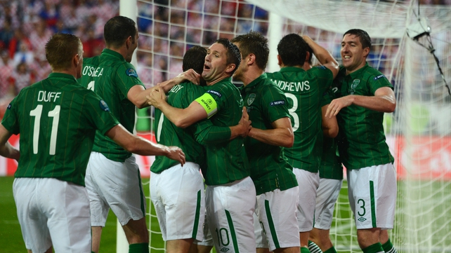 The Republic of Ireland were knocked out of Euro 2012 at the group stages