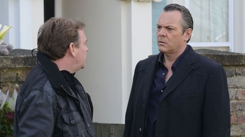 French (right) - Details of his exit storyline have not been revealed