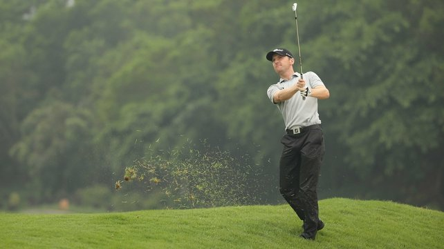 Michael Hoey was the only one of the Irish to make the cut in Shenzen