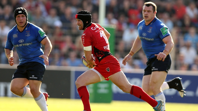 Matt Giteau was superb against Leinster