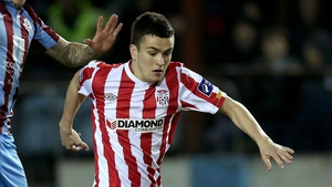 Michael Duffy joined Celtic from Derry on Monday