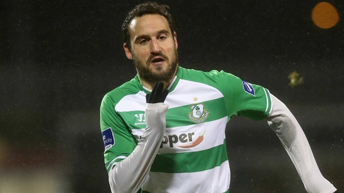 Eamon Zayed was on the scoresheet for Shamrock Rovers