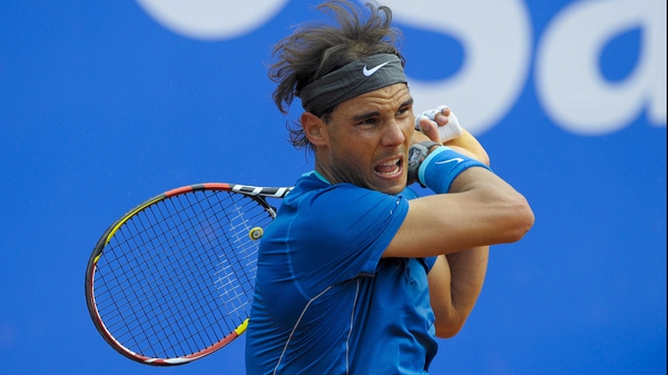 Rafael Nadal's only previous defeat at the Barcelona Open came in 2003 when he was beaten by Alex Carretja in the second round