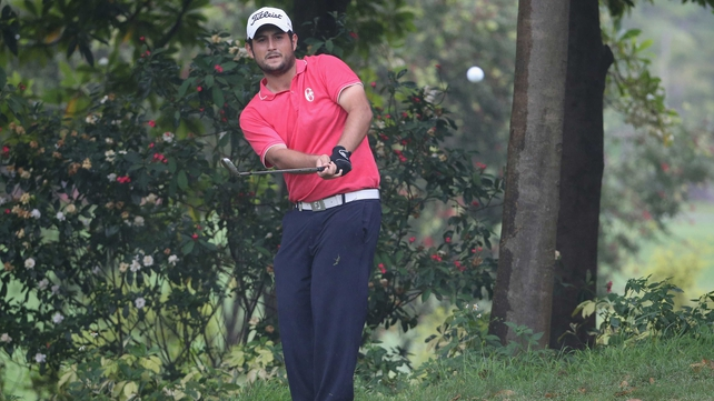 Alexander Levy of France is three shots clear in Shenzen