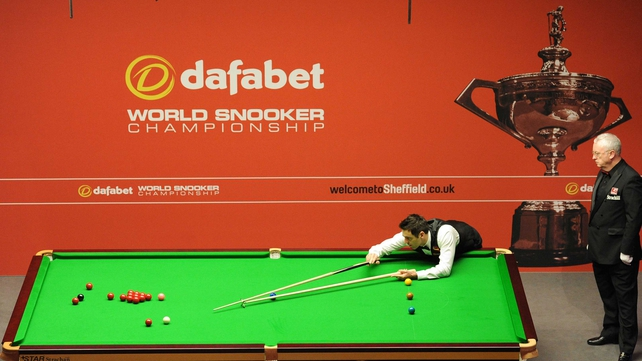 Hendry Made The Most Recent World Championship Maximum On Day One Of 2012 Tournament