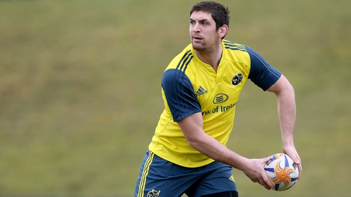 James Downey made 47 appearances for Munster