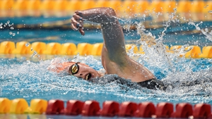 Antoinette Neamt has taken three golds at the Irish Swimming Championships