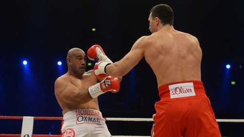 Vladimir Klitschko was never challenged by an out of his depth Alex Leapai