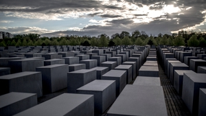 The Holocaust Memorial in Berlin, Germany
