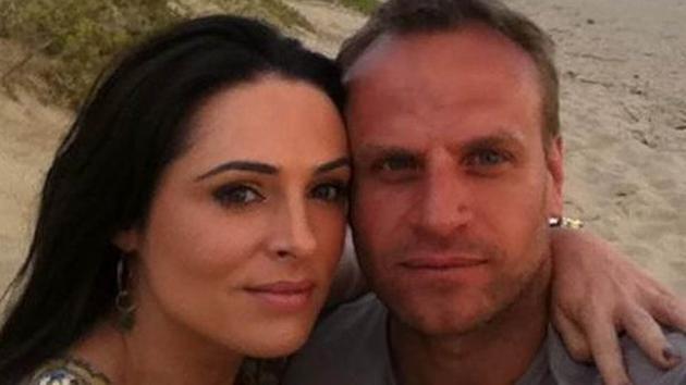 Grainne and fiancé Leon Jordaan