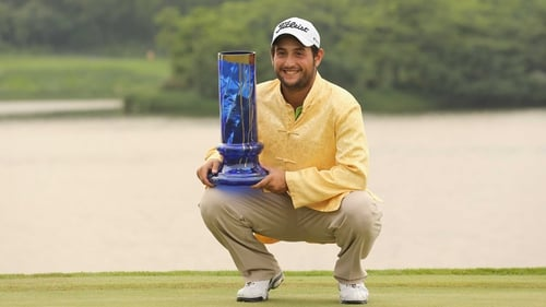 Alexander Levy's previous best performance on the European Tour came when he finished third at last season's BMW International Open