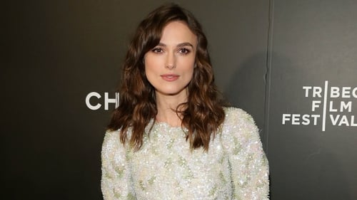 Keira Knightley at the Begin Again premiere