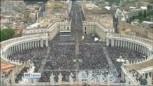 Two former popes declared saints