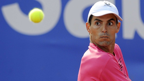 Santiago Giraldo will bid for a maiden ATP Tour title on Sunday