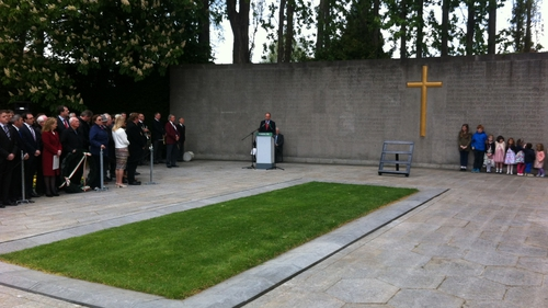 Micheál Martin was speaking at an Easter Rising commemoration at Arbour Hill in Dublin