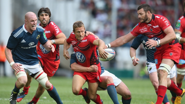Last year's winner, Jonny Wilkinson (centre) is nominated again, but there is no place for Paul O'Connell (left)