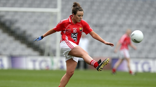 Orlagh Farmer set Cork on their way when converting a penalty early on