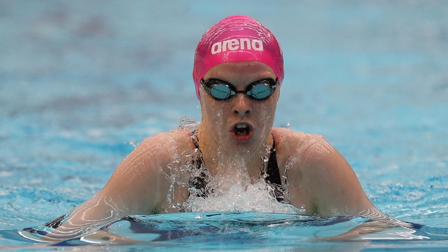 Dearbhail McNamara, in action here last year, became the eighth Irish swimmer to qualify for the European champioinships