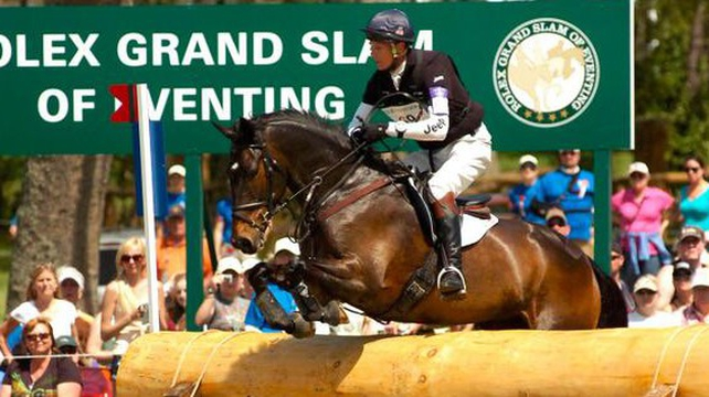 William Fox Pitt and Bay My Hero on their way to first place in Kentucky