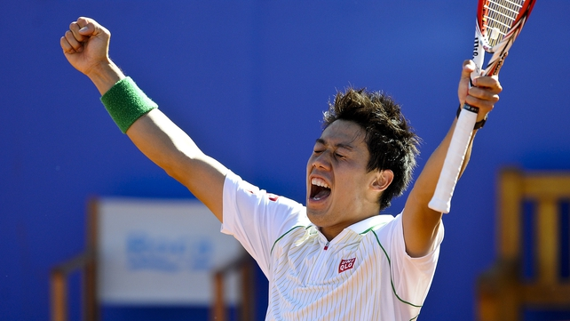 Kei Nishikori savours his moment