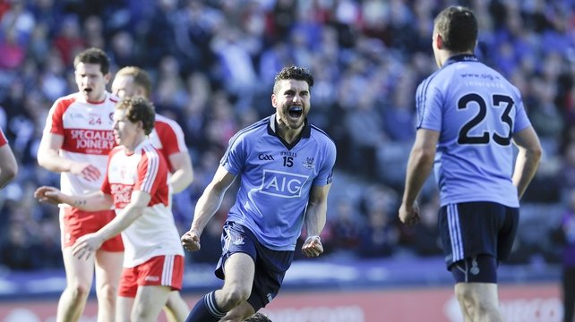 Bernard Brogan scored 1-06 as Dublin ran riot