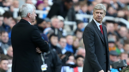 Alan Pardew and Arsene Wenger have had a run-in previously