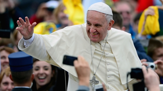 Historic double canonization