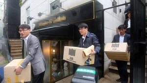Prosecutors took material from the offices of Chonghaejin Marine