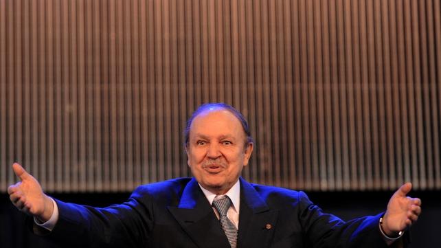 Algerian President Abdelaziz Bouteflika pictured in 2009