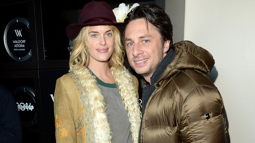 Zach Braff and Taylor Bagley split after five years
