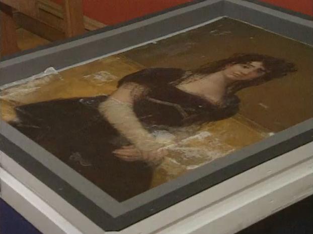 'Dona Antonia' by Goya, National Gallery of Ireland