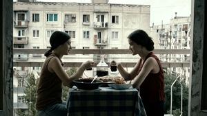 Best of friends - Eka (Lika Babluani) and Natia (Mariam Bokeria)