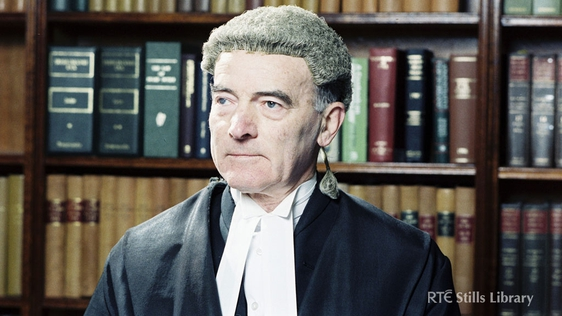 Judge John Gannon (1988) © RTÉ Archives 2334/015