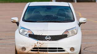 Self-Cleaning Car