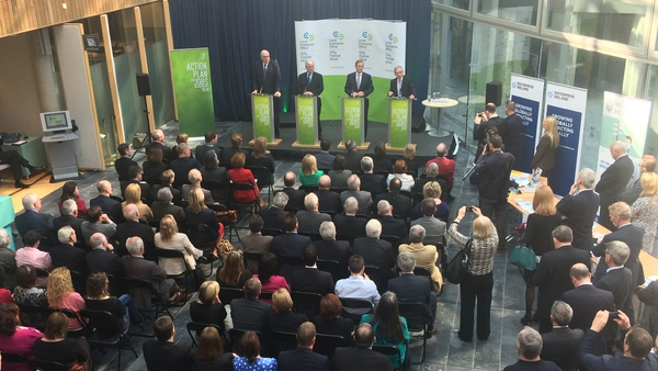 Eamon Gilmore was speaking at the launch of the new local enterprise offices in Mullingar