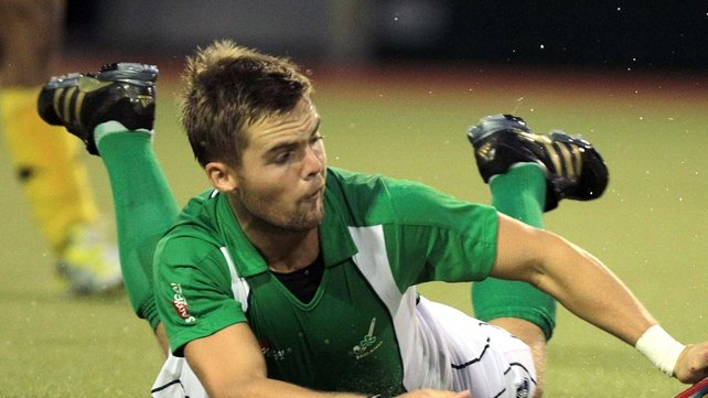 Alan Sothern was the hero for Ireland, scoring the decisive goal