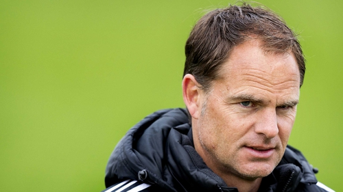 Frank de Boer said he would think about the possibility of a move after the last Ajax fixture of the season