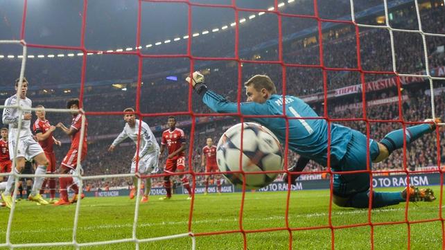 Sergio Ramos scores the second goal