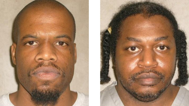 The botched execution of Clayton Lockett (left) led to the delay of Charles Warner's execution