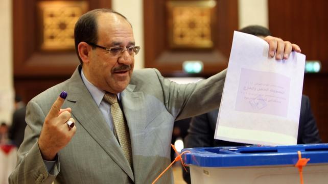 Iraqi Prime Minister Nuri al-Maliki is seeking a third term