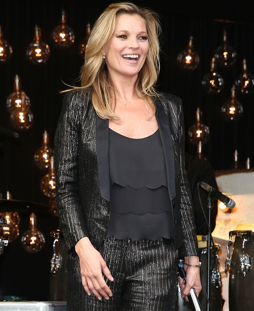Kate Moss launches Topshop line