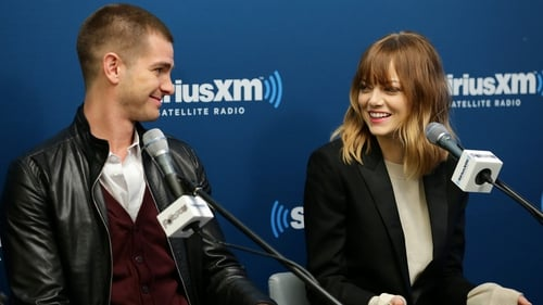 Emma Stone with Amazing Spider-Man co-star and boyfriend Andrew Garfield