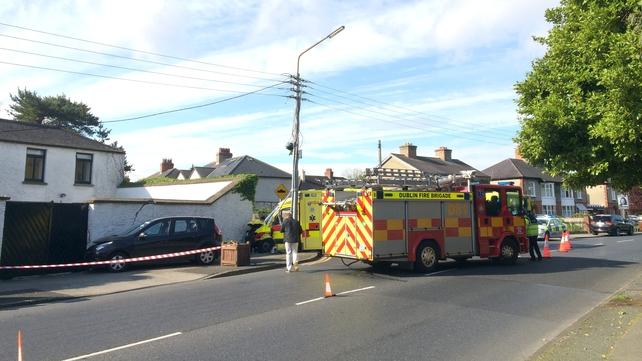 The crash happened on Butterfield Avenue in Rathfarnham