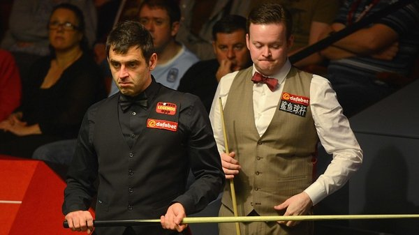Ronnie O'Sullivan now has this evening off