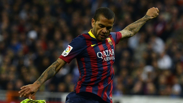Dani Alves said he would like to see more done to punish the fan who threw the banana